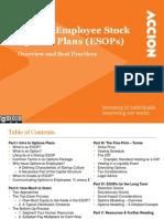 ESOP Best Practices