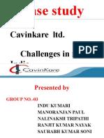 Case Study on Cavin Kare ppt