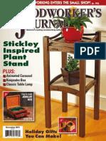 Woodworker's Journal - December 2015