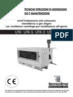 Generatoare Aer Cald Tecnoclima Seria Utk - Informatii Tehnice[1]