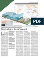Salvarse de Un Tsunami