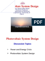 PV System Design Explained
