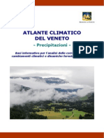 Atlante Climatico Del Veneto Precipitazioni TUTTO