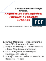 Projetos Urbano Exemplos