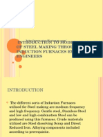 Introduction to Modern Concept of Steel Making Through Induction Furnaces by Stead Fast Engineers