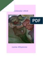 Bön Calendar 2016