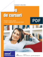 Catalog Cursuri Eurocor 2009