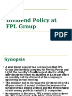 dividend policy at fpl