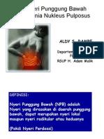 1. Nyeri Punggung Bawah Pada Hernia Nukleus Pulposus.ppt