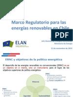 Christian Santana - Marco Regulatorio Energías Renovables en Chile