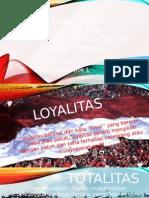 Pengaruh Loyalitas, Totalitas Dan Profesionalitas