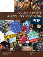 Thesis Guide Sept 2012