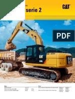 Catalogo Excavadoras Hidraulicas 320d Dl Serie 2 Caterpillar