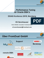 MySQL Performance Tuning für Oracle-DBA's