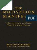 243045949 MotivationManifesto Excerpt BrendonBurchard Small PDF