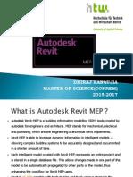 Dhiraj Kanaujia_Autodesk RevitMEPx