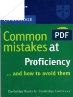 Common Mistakes at Proficiency (Cambridge CPE)