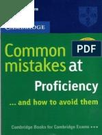 Common Mistakes at Proficiency (Cambridge CPE)
