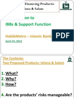 IBBs Support Function - Presentation -IstisnaSalam (22!04!2014)