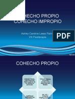 Cohecho Propio y Cohecho Impropio