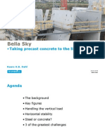 Bella Sky - Taking Precast Concrete to the Limit