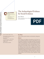 1 Marcus 2008 the Archaeological Evidence for Social Evo