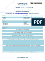 SERBIA EuroACTive Application Form