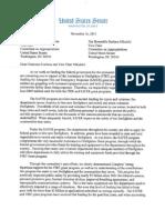 Tester's firefighter letter