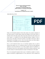 Process Dynamics and Control from Prof A.K. Jana