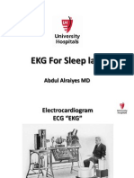 EKG for Sleep Lab