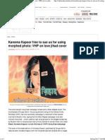 Kareena Kapoor Free to Sue Us - VHP on Love Jihad Cover Photo