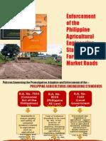 Enforcement of Paes Farm to-market Roads