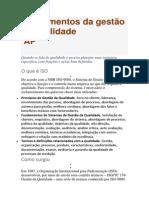 Fundamentos Da Gestão Da Qualidade_2015