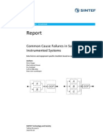 Sintef a26922 Common Cause Failures in Safety Instrumented Systems Beta...