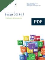 Budget 2015-16