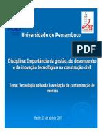 IGDITC_Aula Profa. Fátima Brayner - IGDITCC - 2007
