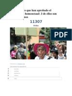 Los 14 Países Que Han Aprobado El Matrimonio Homosexual 111