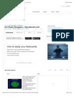 DO7-Radar Navigation - Operational Level Flashcards - Cram.com2