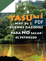 Yasuni-mas de 100 Buenas Razones Para No Sacar El Petroleo