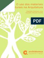 O Uso Do Materiais Naturais Na Arquitetura