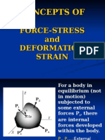 10.Concepts of Force-Stress and Deformation-Strain