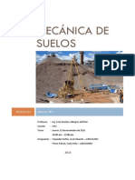 Informe mecánica de suelos