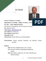 Curriculum Vitae Dr.thamer