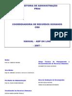 Manual Adp on Line