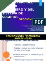 Ley 26702, Seccion Quinta