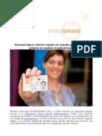 Maryland elige la solución completa de Gemalto para sus nuevos permisos de conducir de policarbonato