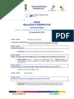 Agenda Conferinta REGIO 26.11.2015