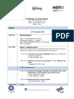 Med-Spring_MERID Innovation Training Agenda.docx
