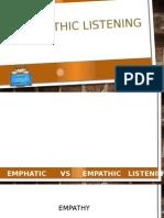 Empathic Listening Content