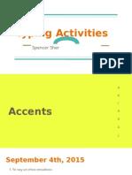 spanish typing activities